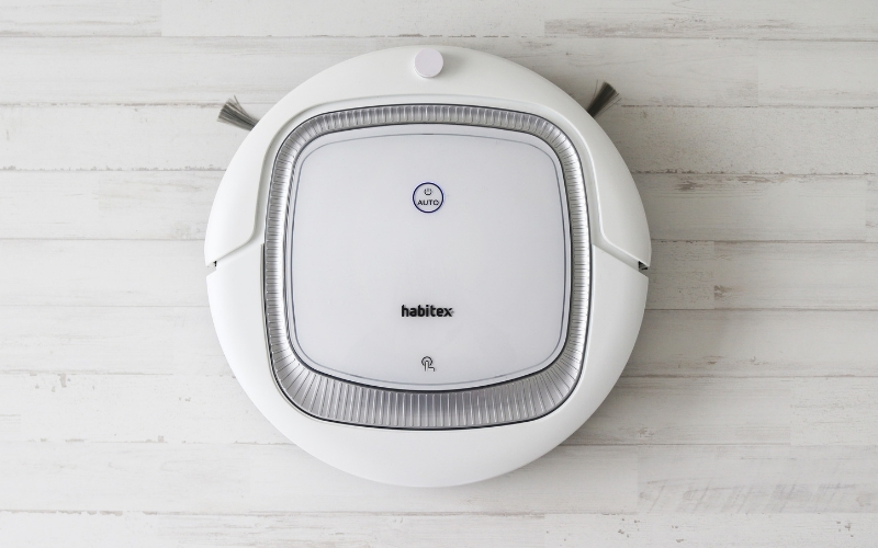 Robot aspirador inteligente de Habitex