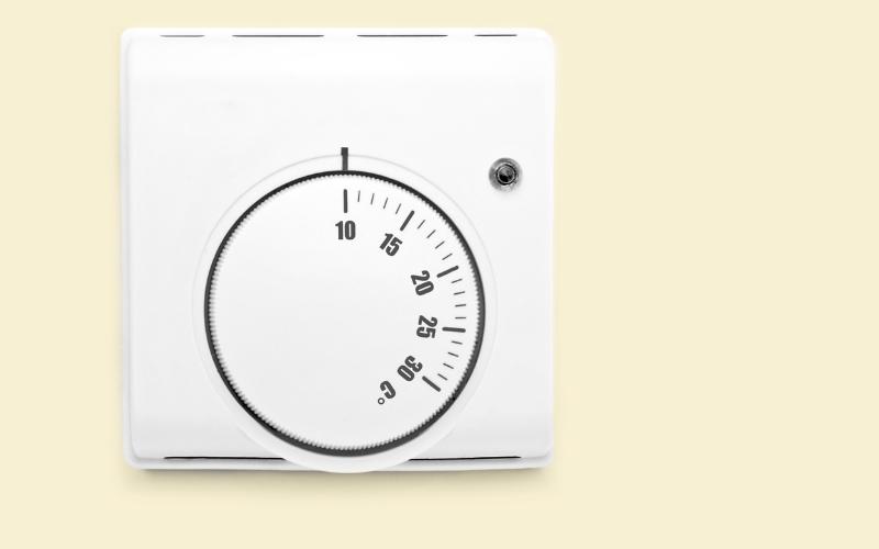 Emplea termostatos para ahorrar en calefacción