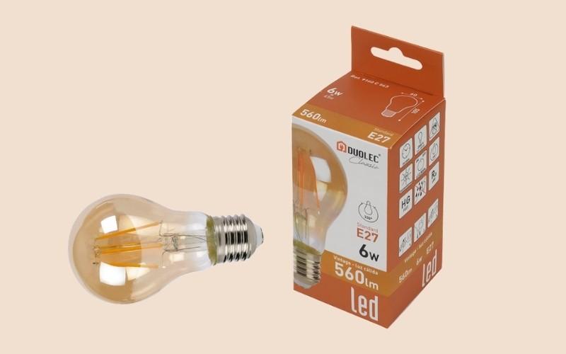 Utiliza bombillas LED para disminuir el consumo de la luz
