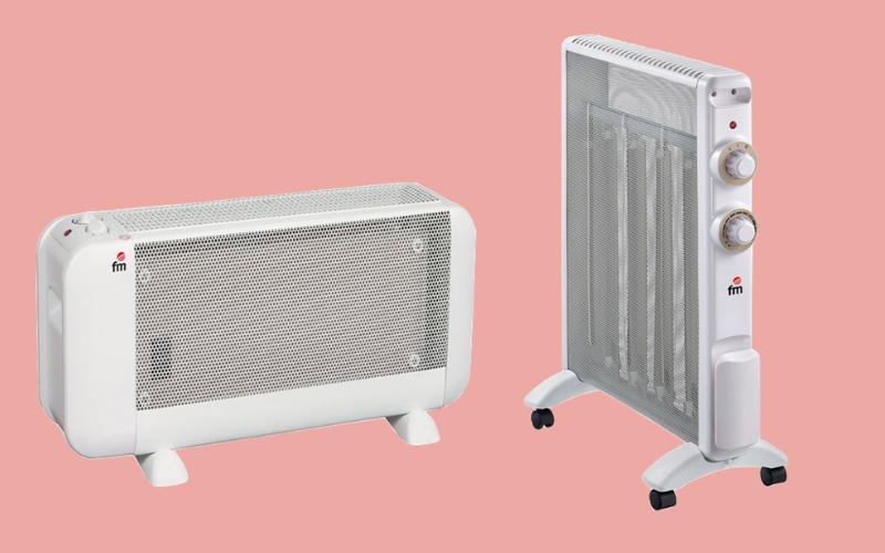 Calefactores de mica