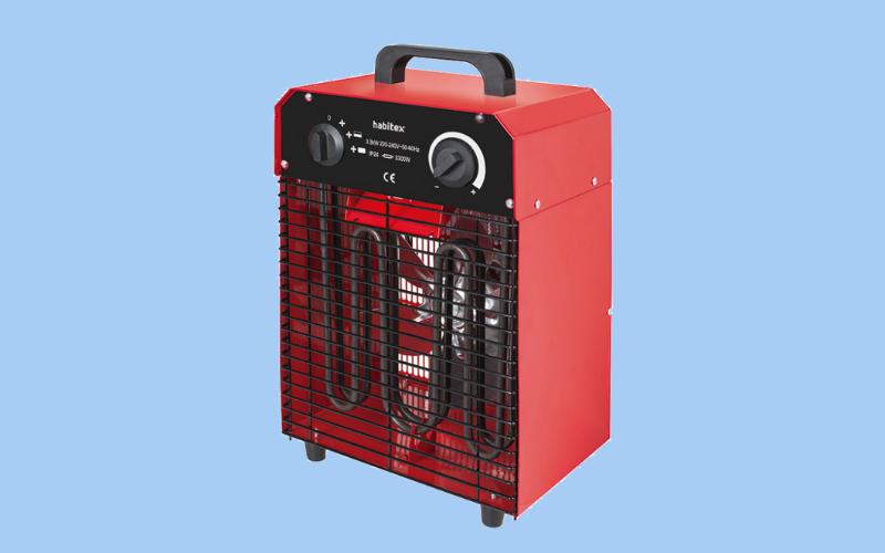 Calefactor industrial para zonas amplias y exteriores