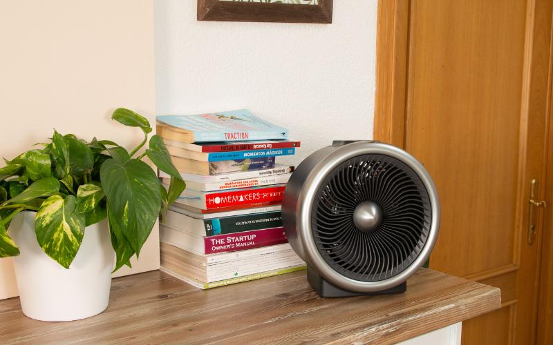 Calefactor termoventilador para el dormitorio