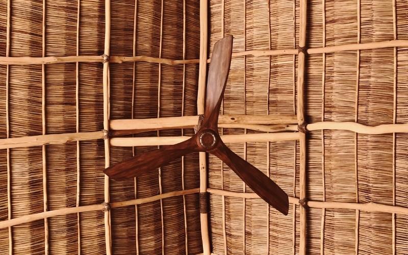 Material de las aspas del ventilador de techo
