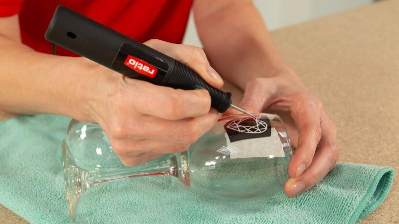 Como grabar en cristal