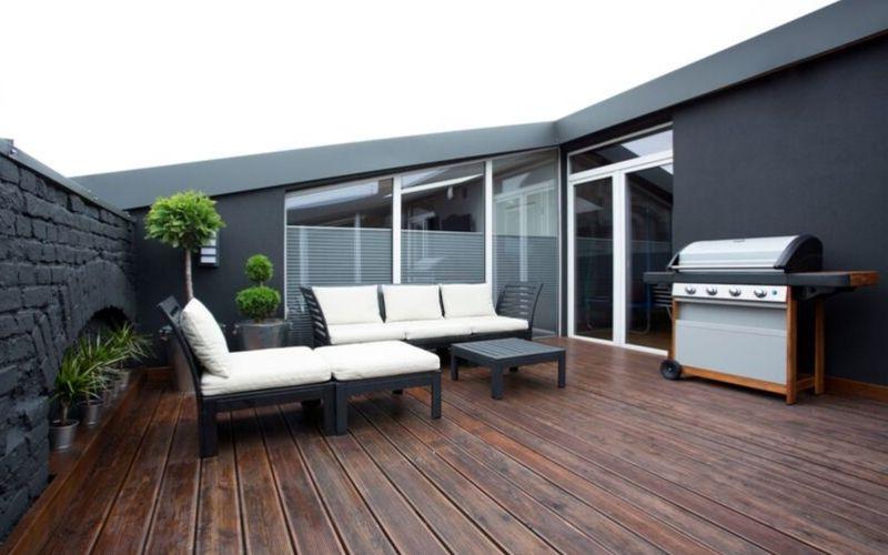 Cuida los elementos textiles de tus muebles de exterior