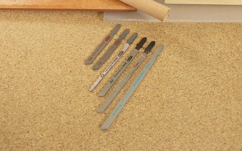 Hojas de sierra según el material a cortar