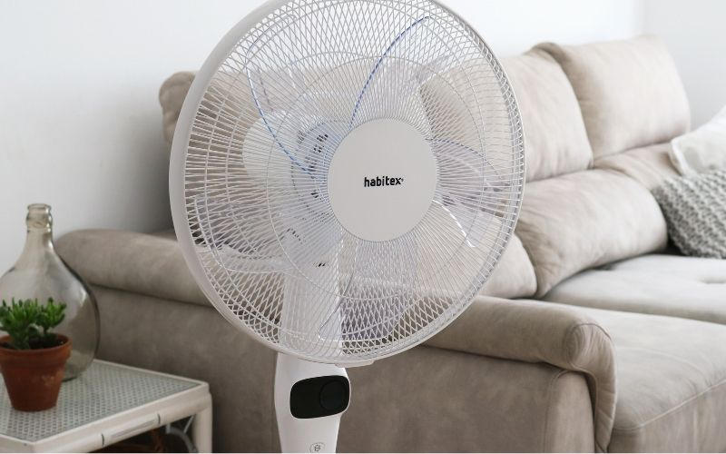 Ventilador de pie Habitex VPSilent