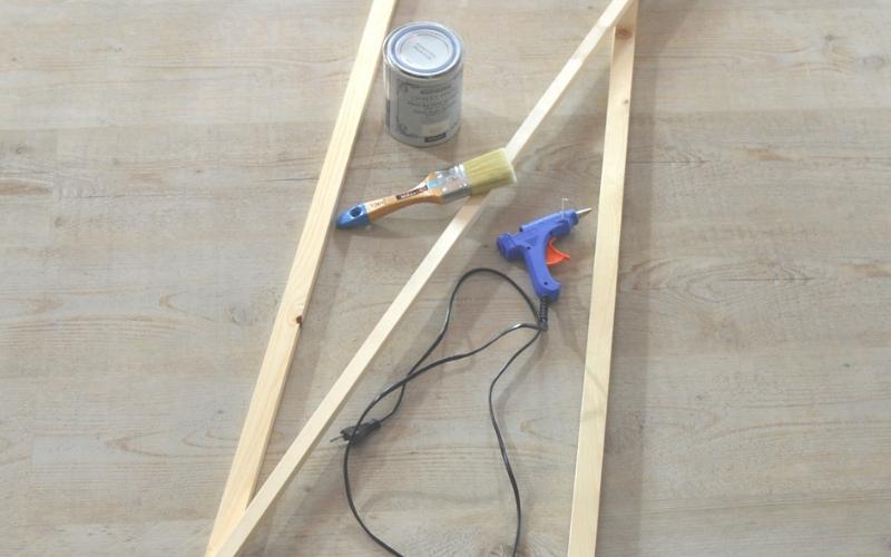 Herramientas para la escalera decorativa
