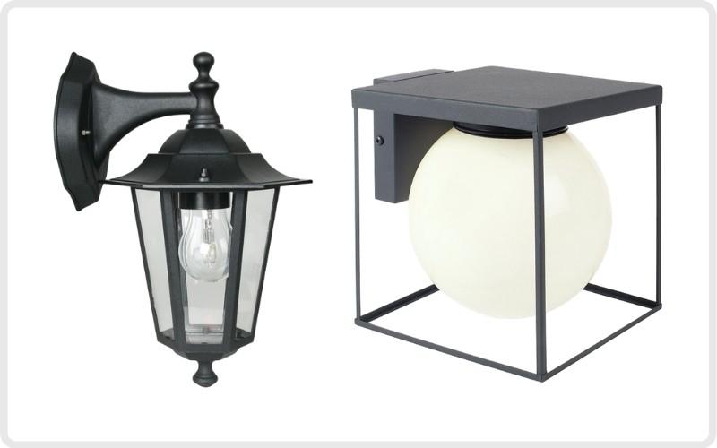 Ilumina tu jardín o patio con apliques exteriores