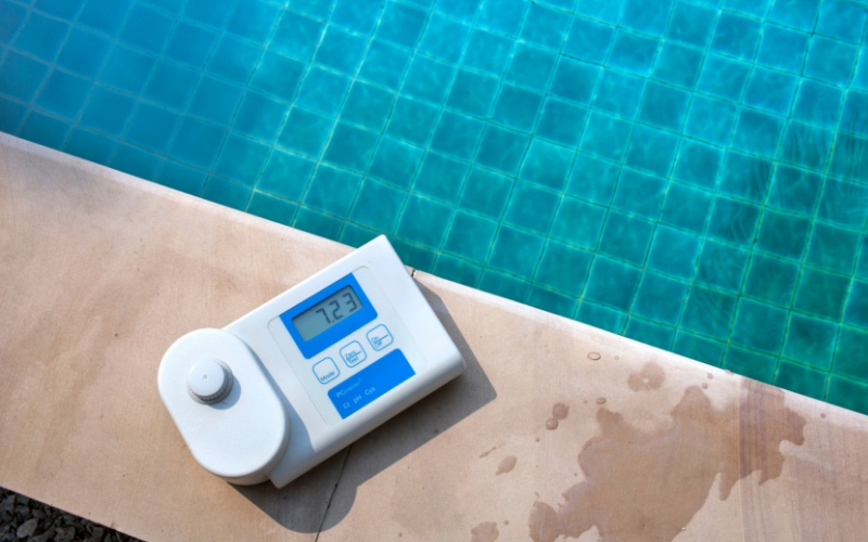 Regula el ph del agua de tu piscina