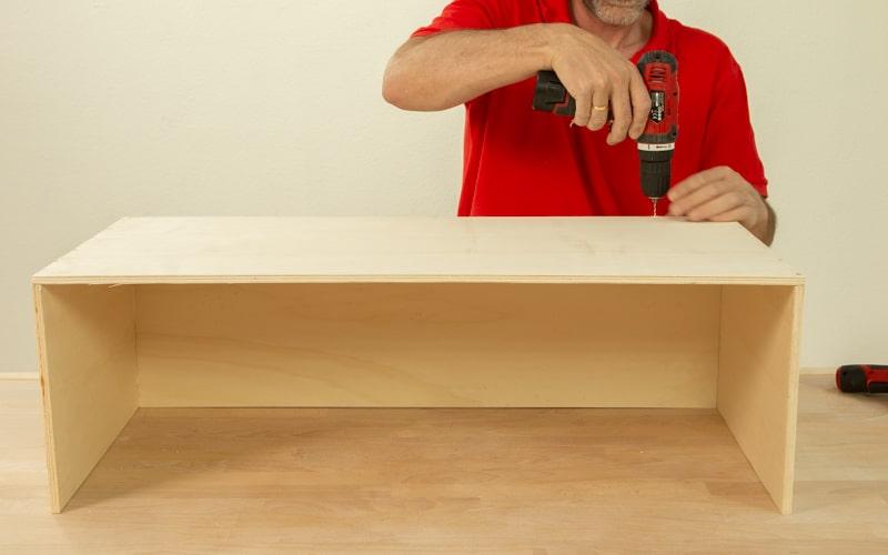 Crea la estructura del mueble