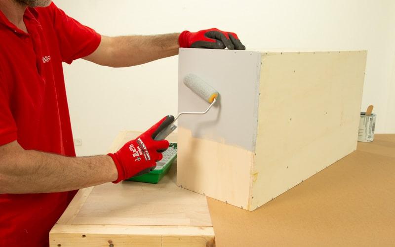 Pinta el organizador de herramientas
