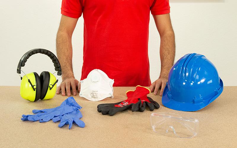 Elementos de protección y seguridad laboral