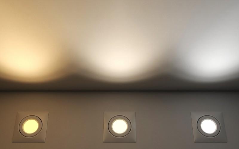 Tipos de grados kelvin en las ludes LED