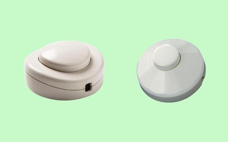 Tipos de interruptores de pie