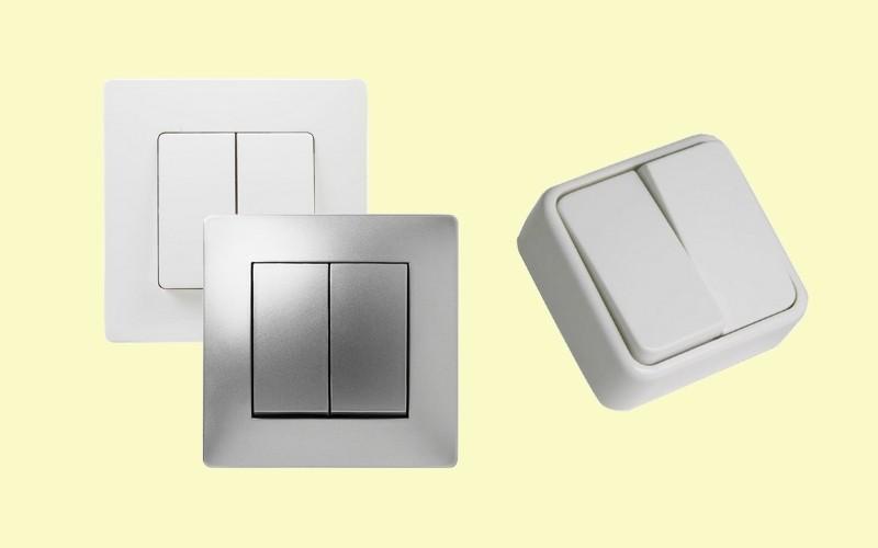 Interruptores dobles o múltiples