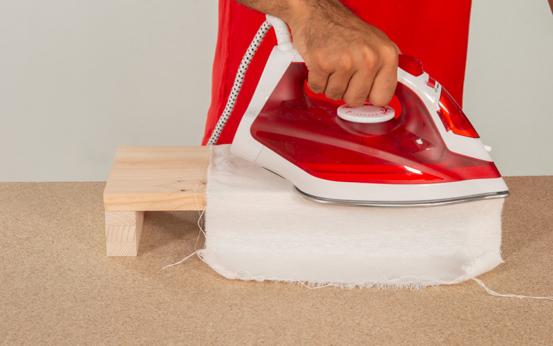 Plancha la tabla de madera