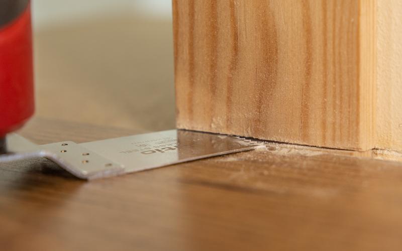 Corte al ras de madera
