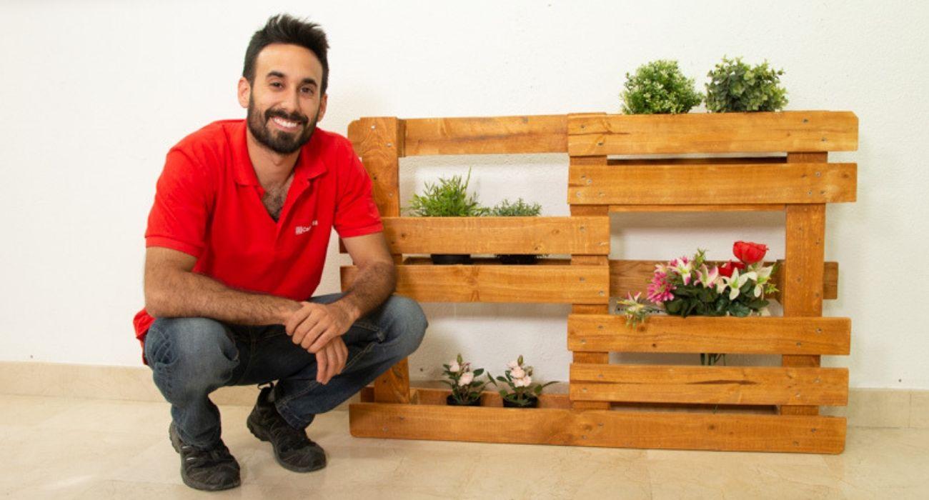 jardinera palet Jardinera Con Palet En Cinco Pasos Cadena 88