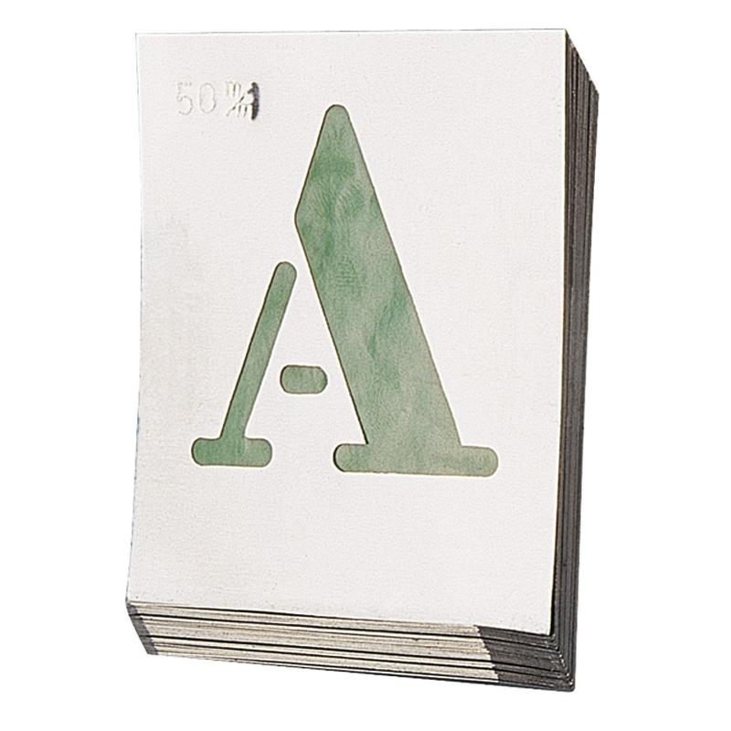 Abecedario aluminio