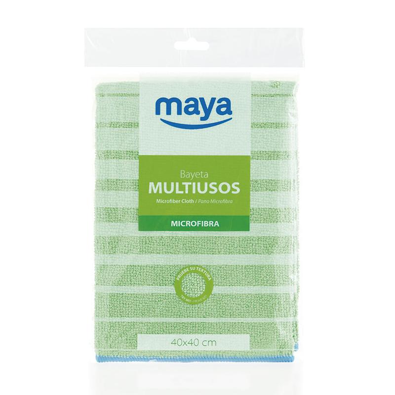 Bayeta y gamuza MAYA microtex multiusos 40x40 cm