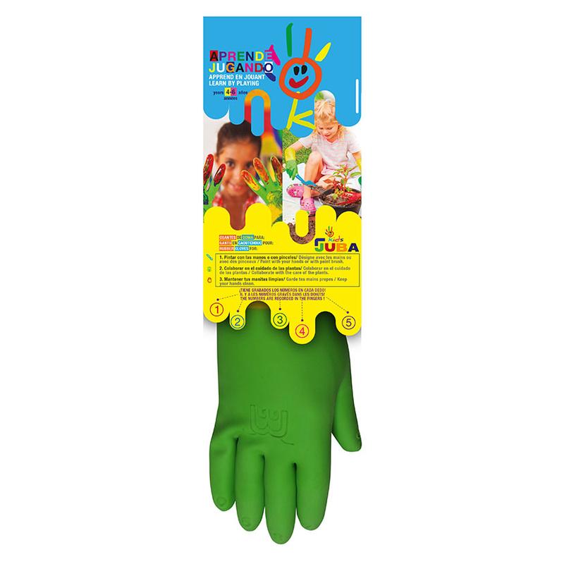 Guante látex natural niños JUBA H264
