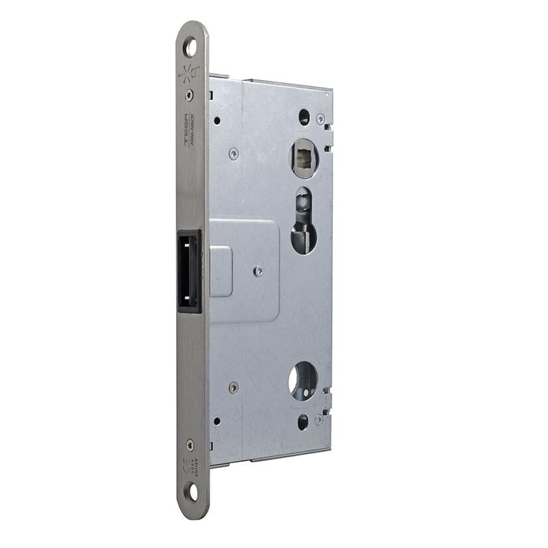 Cerradura puerta cortafuegos TESA función antipánico