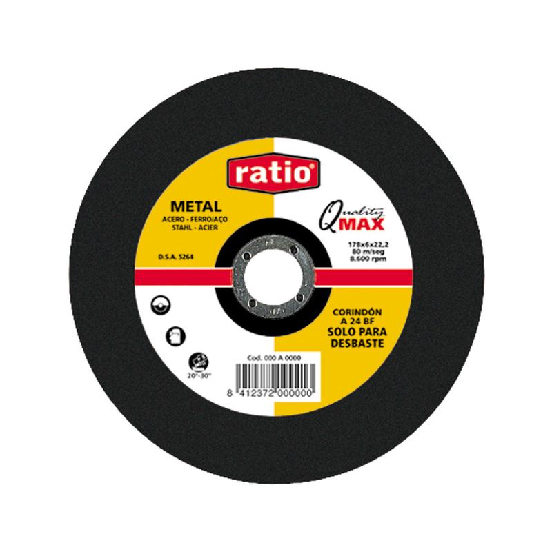 Disco de desbaste de metal RATIO Quality Max. 10 unidades