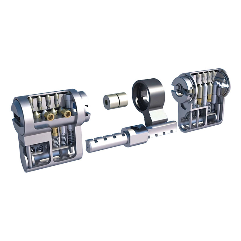 Cilindro seguridad modular ABUS Vela niquelado