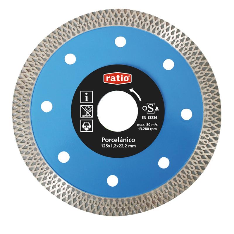 Disco turbo para gres y porcelánico RATIO Quality Max