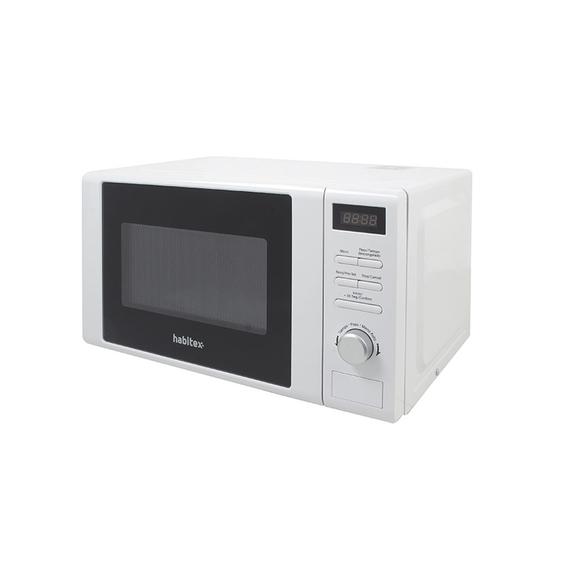 Microondas digital 20L HABITEX CMD20B blanco