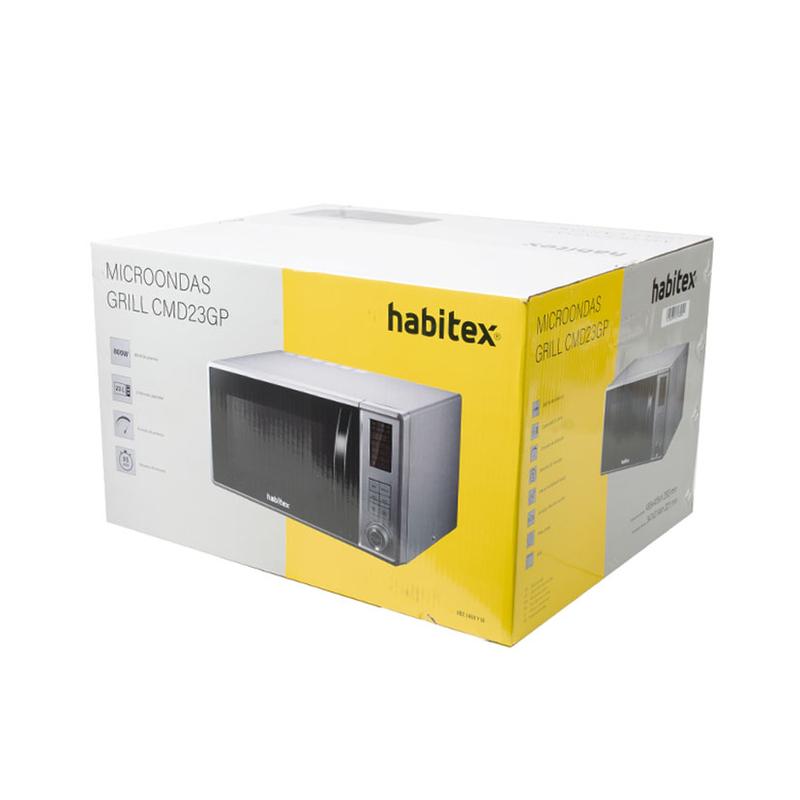 Microondas digital 23L HABITEX CMD23GP