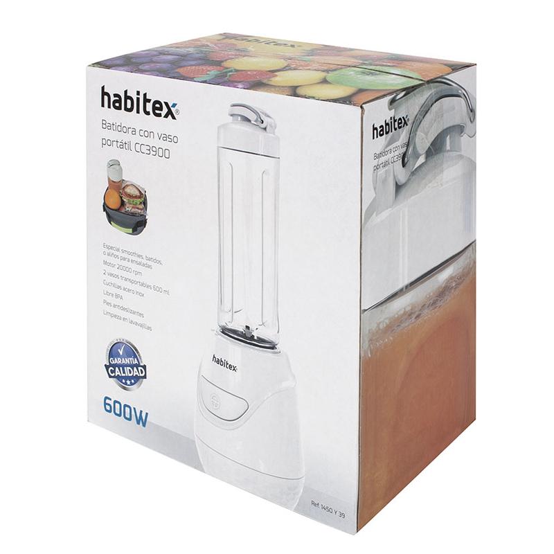 Batidora de vaso individual 600W HABITEX CC3900
