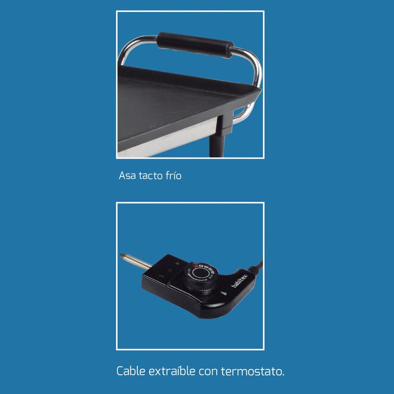 Plancha de asar HABITEX CC5902 2000 W
