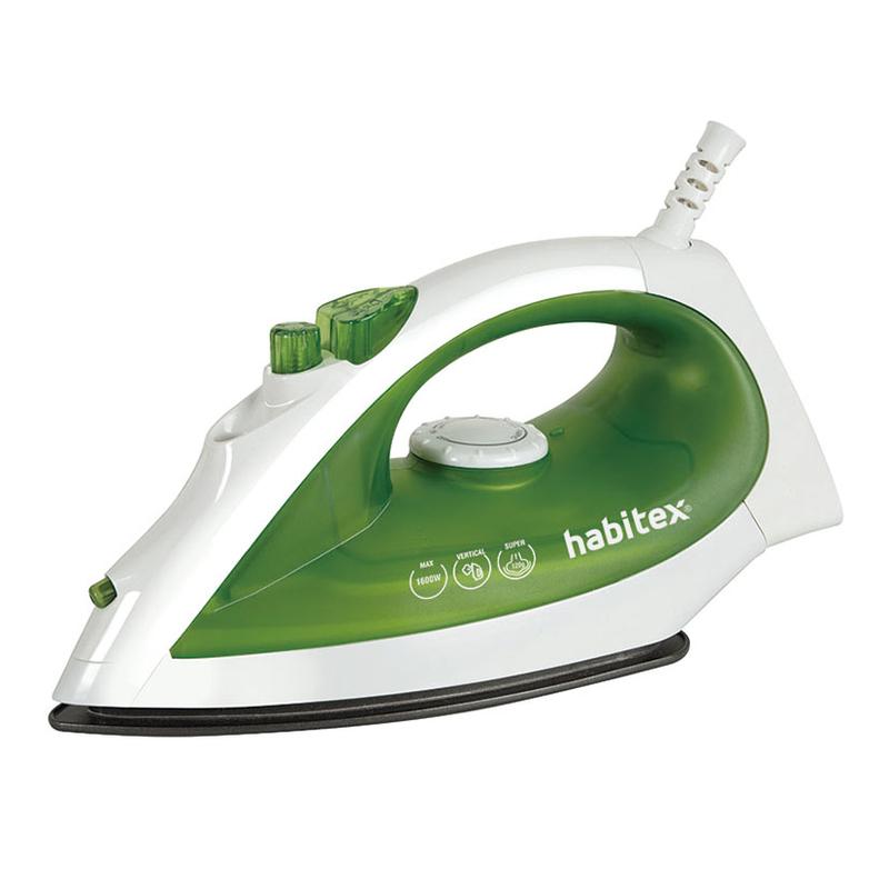 Plancha de vapor HABITEX HG7200B de 1600 W