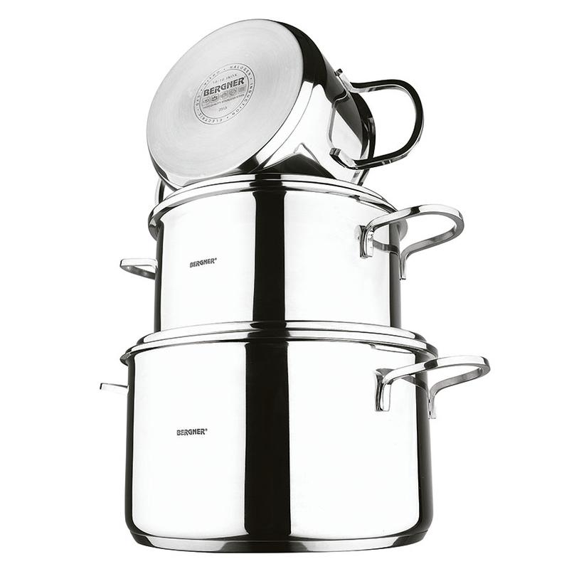 Batería de cocina BERGNER modelo Classic Inox