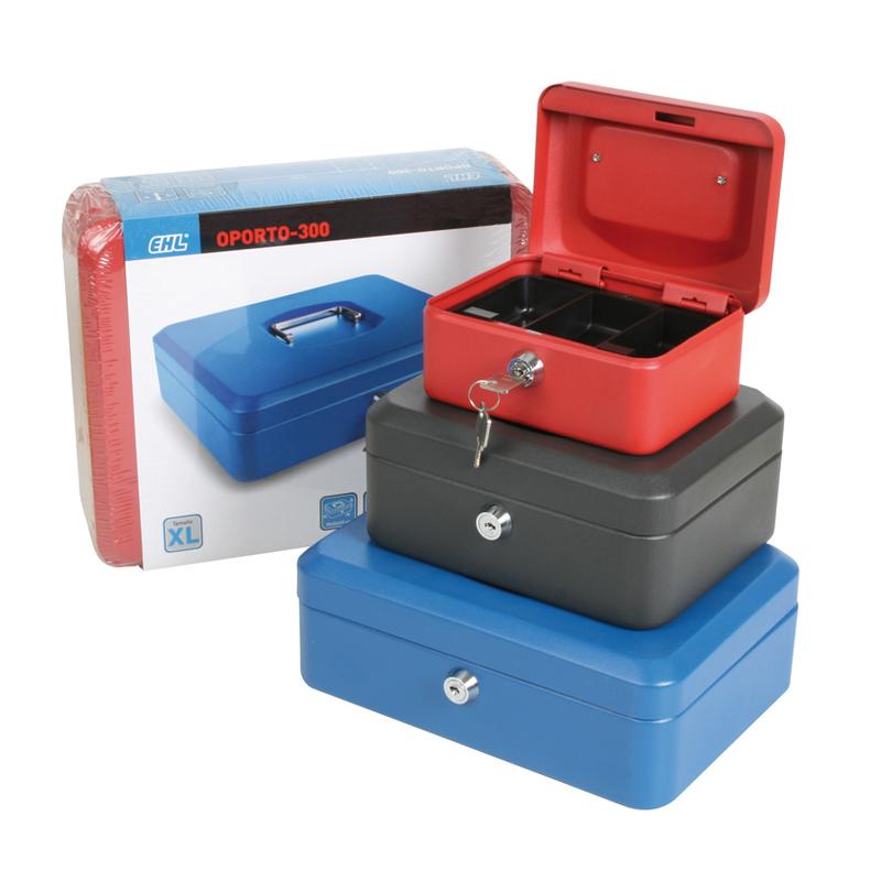Cajas de caudales EHL serie Oporto 152x115xhx80mm