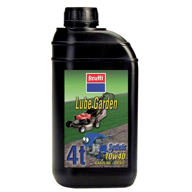 Aceite lubricante KRAFFT Lube Garden 4t para maquinaria de jardín