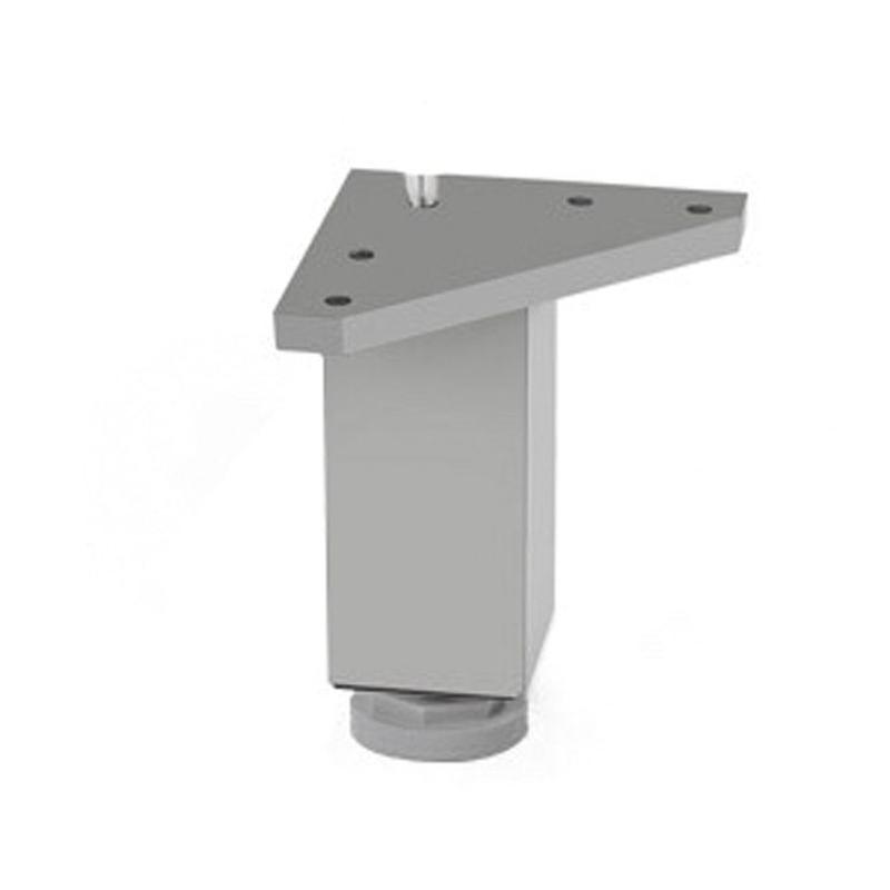 Pata mueble cuadrada aluminio NESU modelo 5002