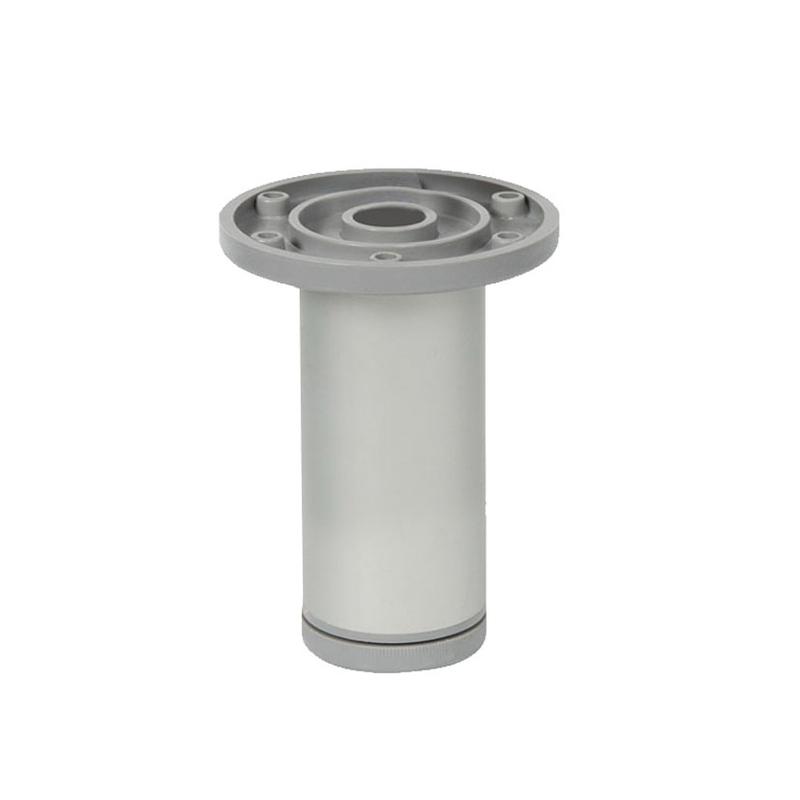 Pata mueble redonda aluminio NESU modelo 5003