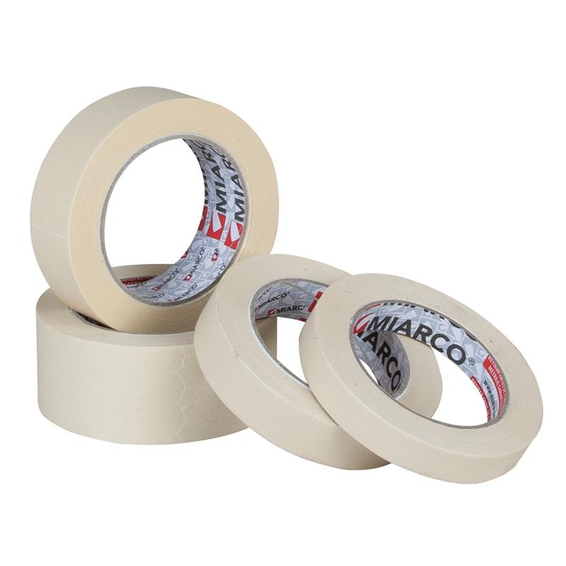 Cinta adhesiva MIARCO krepp liso rollo 45 m