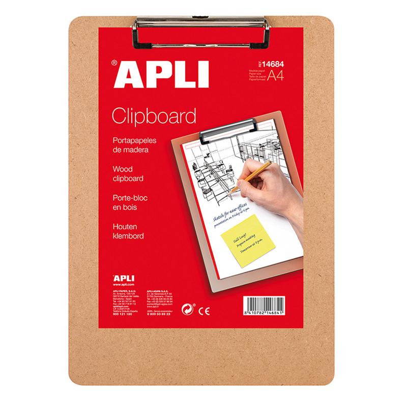 Carpeta sujetapapeles APLI Clipboard