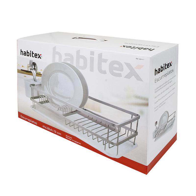 Escurreplatos HABITEX 41x28xh.13 cm