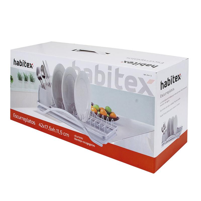 Escurreplatos HABITEX 42x17,5xh.11,5 cm