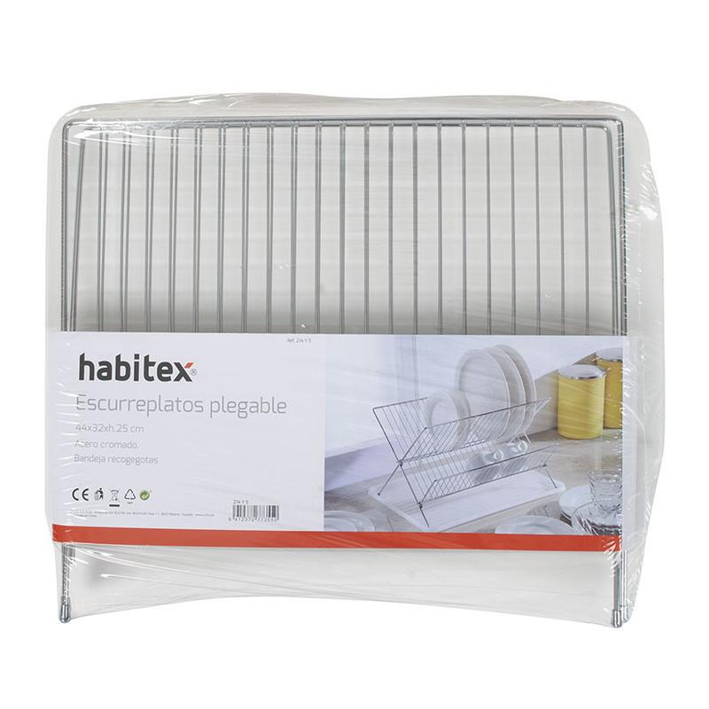 Escurreplatos plegable HABITEX