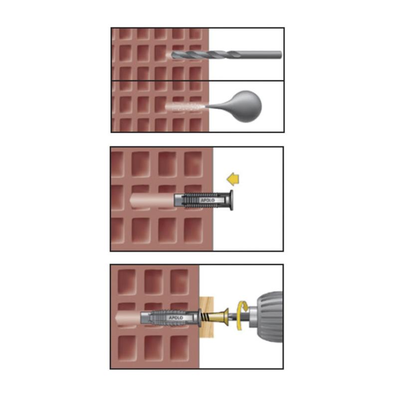 Taco nilón FX RATIO multimaterial
