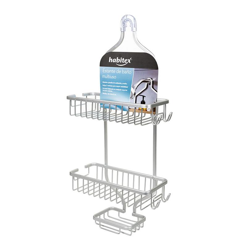 Estante de baño HABITEX multiusos