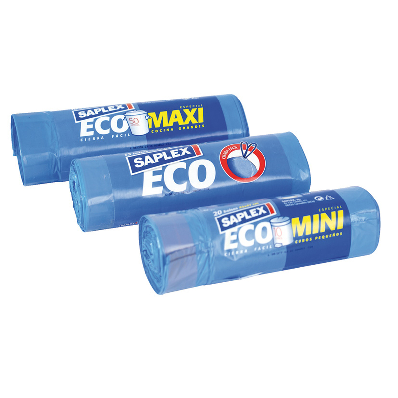 Bolsa basura SAPLEX Eco 70x75 cm
