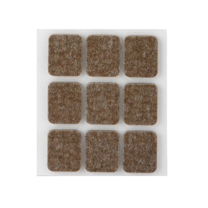 Topes INOFIX marrón 29x23 mm