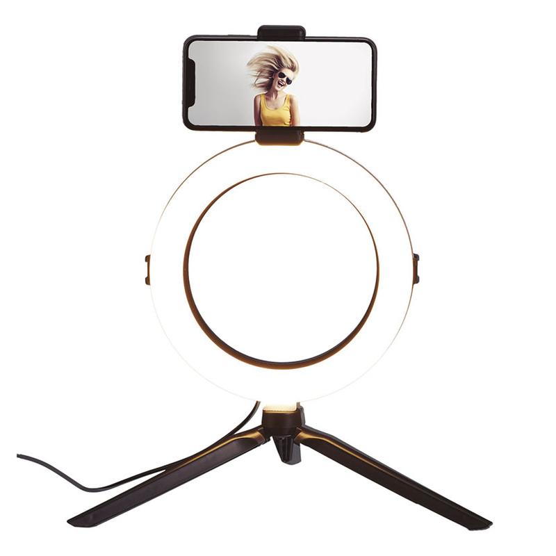 Lámpara Led trípode selfie